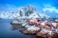 Eliassen Rorbuer Cabins on Hamnoy