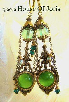Vintage Earrings.