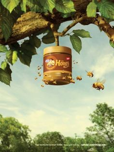 Ads of the World™ - Kraft Peanut Butter with Honey: Beehive Clever Advertising, Advertising Poster, Advertising Design, Advertising Campaign, Hotel Advertisement, Japan Advertising, Makeup Advertisement, Ads Creative, Creative Posters