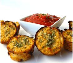 high protein snacks by Green Blender, cauliflower bites