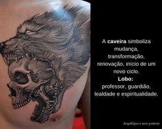 Caveira x Lobo Facebook Sign Up, Tattoos, Tattoo Meanings, Tatuajes, Tattoo, Tattos, Tattoo Designs