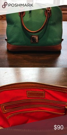 Dooney & Bourke spearmint green bag Adorable Dooney & Bourke bag in perfect condition Dooney & Bourke Bags Satchels