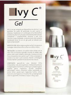 Ivy C, gel anti-idade com nanosferas de vitamina C e Retinol