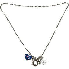 Touch By Alyssa Milano New England Patriots Heart Logo Love Necklace