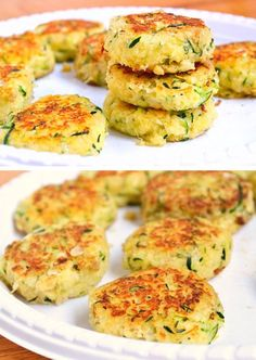 Zucchini Cakes | 30 Healthy After School Snacks for Kids | Quick and Easy After School Snacks for Teens