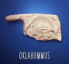 Oklahoma + hummus = Oklahummus!
