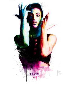 RIP Prince... Artist: @Patrice_Murciano  #Prince #PurpleRain #PurpleTears #RIPPrince #PrinceRIP #friday #princetribute #anchorcafe #anchorrestaurant #anchorestaurant #milsonspoint #kirribilli #lavenderbay #northsydney #autumn #autumnal #autumn2016 #autumnsydney #autumnprince