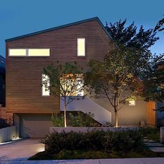 East Van House By Splyce Design 1 Asymmetric House In Canada Flaunts  Surprising Design Solutions For Modern Living