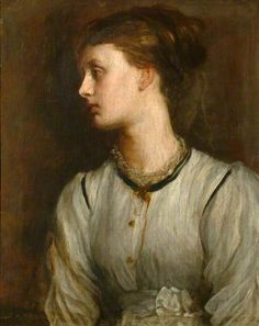 * Retrato de Miss May Prinsep * (by George Frederic Watts).