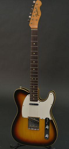 Fender Custom Telecaster 1967 Sunburst | Reverb More