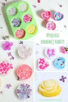 Mydełka domowej roboty / pomysł na prezent na dzień mamy, dzień kobiet, dzień babci i dziadka Diy For Kids, Gifts For Kids, Diy Gifts For Grandma, Diy And Crafts, Arts And Crafts, Diy Lotion, Cafe Art, Homemade Cosmetics, Diy Presents