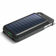 Solar iPhone battery. only if i had an iphone haha