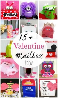 20  Valentine Mailbox Ideas  |  Simple ideas using recycled materials.