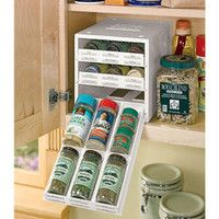 Spice Stack, Spice Drawers, Spice Cabinet, Spice Rack | Solutions