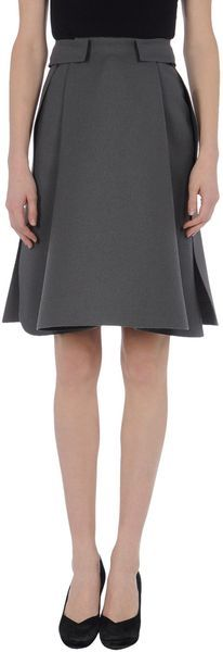 Knee Length Skirts - Balenciaga