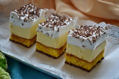 Gál Edith a konyhában Hungarian Cake, Hungarian Recipes, Ital Food, Sweet And Salty, Diy Food, Cheesecake, Dessert Recipes, Food And Drink, Sweets