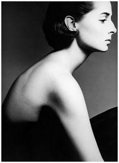 Princess Elizabeth of Yugoslavia  Photo Richard Avedon  1961