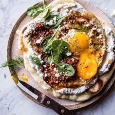 Turkish-Fried-Eggs-in-Herbed-Yogurt-half-baked-harvets-1