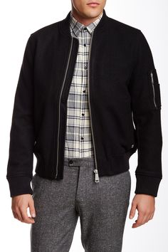 Wool Blend Jacket by Ben Sherman on @nordstrom_rack