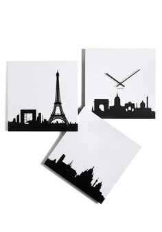 Paris Je Time Wall Clock | Mod Retro Vintage Wall Decor | Modcloth.com