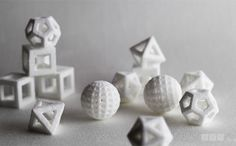 Geometric Peppermints by TheSugarLab