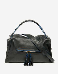 Pompons, Noir, | sandro-paris.com