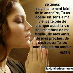 guide spirituel ours ; Priere Ste Rita, Prayer For Family, French Quotes, Faith Hope Love, Heavenly Father, Beautiful Words, Bible Quotes, Religion, Numerology
