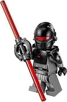 LEGO Star Wars Rebels Minifigure - The Inquisitor Galactic Empire Dark Sith Lego Custom Minifigures, Lego Minifigs, Star Wars Minifigures, Legos, Lego Star Wars Mini, Lego Knights, Lego People, Buy Lego, Cool Lego Creations