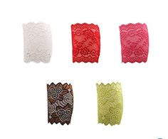 Geoot Womens 5 pair Stretch Lace Boot Leg Cuffs Soft Laced Boot Socks: Size:Leg br Our leg warmers are any boot's best friend. br Care: Hand wash cold and lay flat to dry. Lace Boot Socks, Leg Cuffs, Patterned Socks, Women Legs, Funky Fashion, Stretch Lace, Cool Items, Leg Warmers, Ankle Length