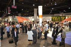 Piazza Ceramica - a true hub for people on the tradeshow floor
