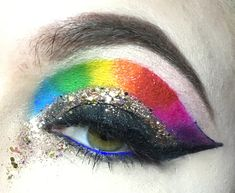 Makeup Art, Makeup Looks, Pop Art Makeup, Make Up Styles, Make Up Looks