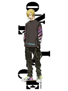 One Piece Street Style Tees One Piece New World, One Piece Crew, Manga Anime One Piece, One Piece Fanart, Sanji One Piece, One Piece Cosplay, One Piece Drawing, Dope Cartoons, One Piece Pictures