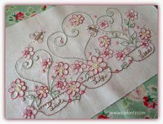 *live your life with love* ~ a new stitchery by Jenny of Elefantz Designs