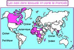Cours de Histoire-géographie CM2 - La francophonie - Maxicours.com