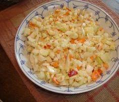 Rezept Kohlrabisalat mit Möhre & Apfel ww-geeignet von zilli - Rezept der Kategorie Vorspeisen/Salate