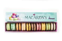 """Макаронс """"Aimant"""" - это только свежие и качественные нежные миндальные печенья-пирожные с разными начинками, приготовленные по всем правилам и рецептам лучших французских кондитеров."""