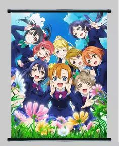 Love Live Anime Wall Scroll Poster