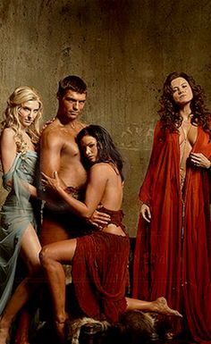 Viva Bianca, Liam McIntyre, Katrina Law, and Lucy Lawless