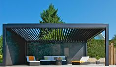 The wooden pergola is a good solution to add beauty to your garden. If you are not ready to spend thousands of dollars for building a cozy pergola then you may devise new strategies of trying out something different so that you can re Pergola Attached To House, Deck With Pergola, Cheap Pergola, Outdoor Pergola, Wooden Pergola, Backyard Pergola, Patio Roof, Black Pergola, Small Pergola