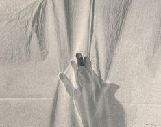 Helena Almeida, Work 36, 1978 Gelatin bromine silver print, ink and horsehair, mounted on board 39 x 49.5 cm #photography #helenaalmeida