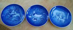 Set of 3 Bing & Grondahl B&G MOTHERS DAY Plates Copenhagen Denmark 87-89 in Collectibles | eBay