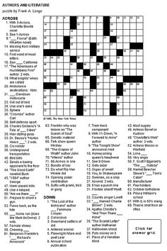Dynamic image pertaining to medium hard crossword puzzles printable