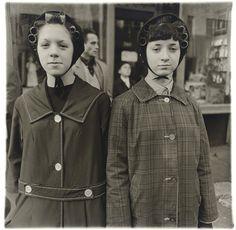 Two girls in curlers, N.Y.C, 1963, Diane Arbus