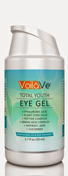 Angela Walker's Reviews: VoilaVe Total Youth Under Eye Gel