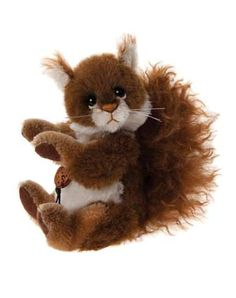 Charlie Bears Minimo Collection 2015 Scampeteer Squirrel