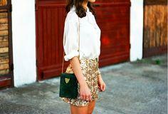 squin skirt <3