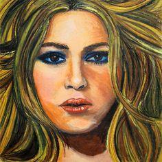 Shakira in Oil Pastel | quaymberley