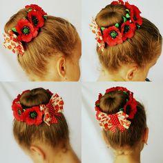 (95) Одноклассники Diy Lace Ribbon Flowers, Flower Hair Bows, Kanzashi Flowers, Hair Ribbons, Ribbon Headbands, Ribbon Bows, Headband Hairstyles, Girl Hairstyles, Bun Wrap
