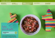 Le pico de gallo fait à base de tomates  est un classique au Mexique. OscarNiño, propriétaire du service de traiteur La mesa de Camila, nous présente sa recette.-INGRÉDIENTS-1piment jalapeno ou Serrano-2 tomates mûres, mais fermes-1/3 d'oignon bl