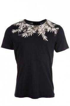 Serge DeNimes Palm Leaf T-Shirt Black
